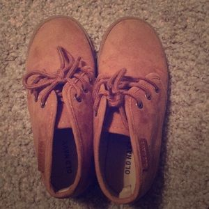 (Kids) Old Navy Tan Boots